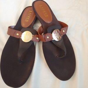Ralph Lauren kalana sandals